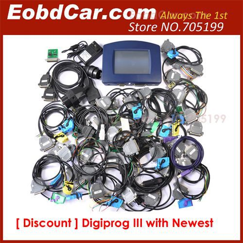 2013 Newest version Digiprog III FULL Software included Digprog 3 odometer programmer digiprog3 digi prog 3(Hong Kong)