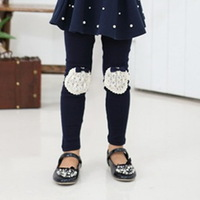 Radish children's clothing 2013 spring female child legging candy color all-match child trousers k233