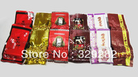 60% Discount!!!!!!!!!12pcs 6 different flavors Chinese tea,Tieguanyin,Ginseng oolong,Roasted oolong,puer tea,free shipping
