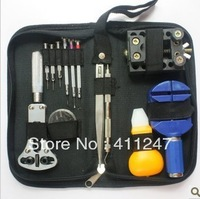 Cheap!!! New 13pcs Watch Repair Tool Set Portable Handy Box Set Design gifts Wholesale!