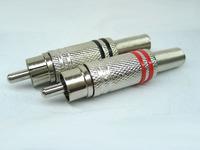 Alloy rca plug lotus plug high quality rca plug