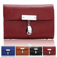 2013 Vintage Real Genuine Leather Card Case Coin Bag Purse Wallet  B528