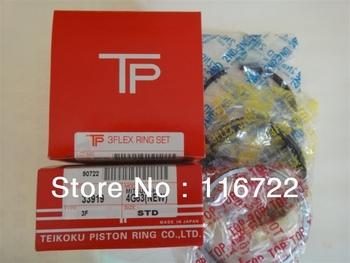 auto parts piston ring for Mitsubishi 4G63 MD105516 10pcs/lot