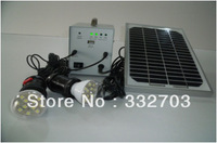 Solar Portable Power Kit With 2 Lamps