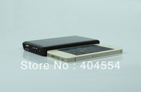 50pcs 5000mAh Black Solar Power External Battery Charger with Led For iPhone 5 iPad Sumsung Blackberry HTC Nokia