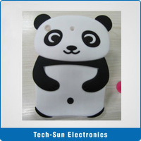 For ipad mini panda Silicone Cover  Free Shipping