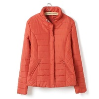Autumn and winter fashion plus size clothing outerwear mm plus size short design wadded jacket cotton-padded jacket mother