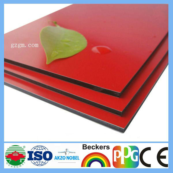PVDF Aluminum Composite Panel for Cladding(China (Mainland))