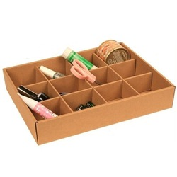 Eco-friendly cowhide paper 12 Slot storage box finishing box DIY storage Organizer 100g(China (Mainland))