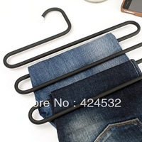 Home multifunctional stainless steel multi-layer hanger magic hanger pants clip 33360