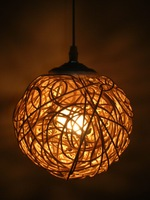 Free shipping Handmade lamps knitted lamp small pendant light lamps lighting lamp