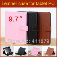 Universal 9.7 inch tablet case  leather case cover for iPad 2 3 4