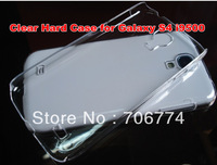 Wholesale 100% fit Anti-skid PC hard Case cover for Samsung Galaxy SIIII S4 S 4 i9500 Case Clear 200pcs by DHL