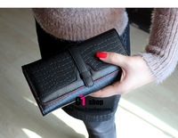 Free Shipping PU leather Women's Purse Ladies Long Wallet fashion women's wallets