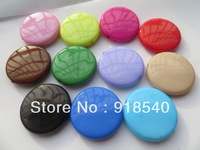 Chunky  Mix Color  95pcs a lot 33MM Large Flat Round Solid  Acrylic beads for Chunky Necklace Jewelry