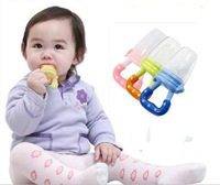 2pcs/lot Free Shipping Baby teethers Fresh Food Nibbler Feeder Feeding Tool  ,D54