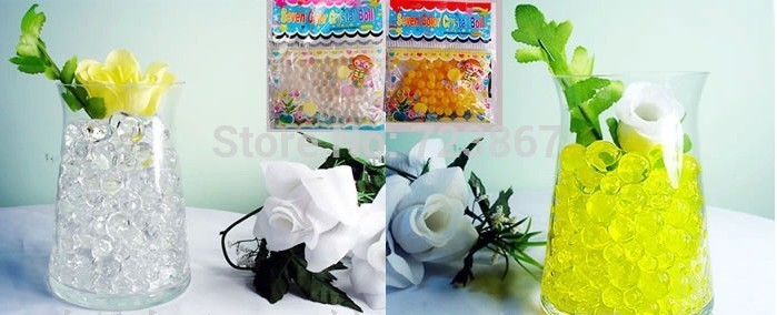 order now! Super round crystal soil Mixed color packaging(China (Mainland))