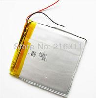 407080  3.7V 2600mAh Lithium Polymer Battery For Mp3 GPS NAV  free shipping