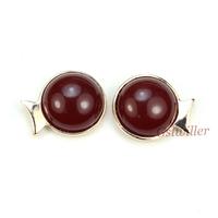 Free Shipping Italina Rigant Fashion Jewelry 2013 Wholesale 18k Rose gold plated Cymophane Earrings For Women Girlfriend Gift