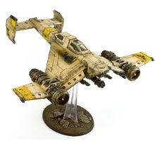 Forge World Warhammer 40K models AVENGER STRIKE FIGHTER contains transparent bracket Warhammer Resin Free Shipping(China (Mainland))