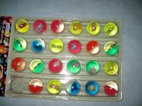 3cm bouncing balls bouncing ball bouncing ball rubber ball crystal ball elastic ball toy ball