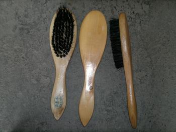 Large with wooden handle shoe brush leather brush overcoat brush baihuo