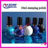 Nail art print professional nail polish green 10ml-01 series