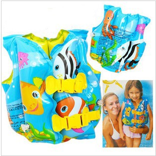 Cute Design Children's Inflatable Life Jackets Kids Life Vests Baby Bathing Suit 8/Lot Best For Kids Swimming Exercises