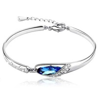 Hot-selling elegant austria crystal bracelet exquisite glass shoes crystal bracelet accessories hand ring