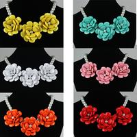Ks j.c sd flower romantic necklace accessories n212