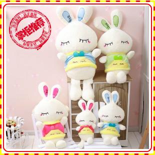 chestbuster toys New arrival love rabbit velvet fur toy cloth doll classic doll dolls girls gift  pug alpacasso