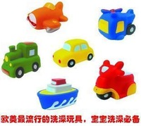 Free shipping excellent bath vehicle toy child transportation combination kid minnie baby toy