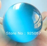 Free shipping! 40mm Blue Mexican Opal Sphere, Crystal Ball/Gemstone Fashion jewelry