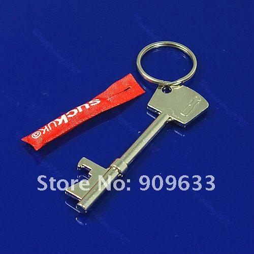 wholesale 5 pcs bottle opener key ring keychain metal bar tool cute suck uk tag. Black Bedroom Furniture Sets. Home Design Ideas