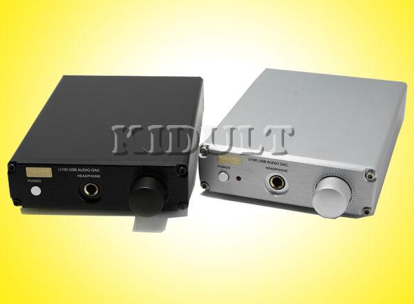 Yulong U100 USB DAC Headphone Amp Sound Card(Hong Kong)