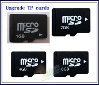 Upgrade TF cards Micro SD card Optional 1GB 2GB 4GB 8GB 16GB 32GB Memory Card  can write any capacity! 50pcs/lot