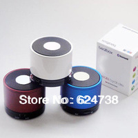 Free shipping mini portable speaker bluetooth speaker for samsung support  answer the phone and TF card