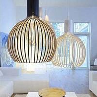 Fashion perfect pendant light bird cage lighting modern dining room lamp fashion bedroom lamps engineering pendant light