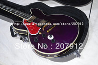 Free shipping 2013 new arrival B.B.King 6-position Switch Electric Guitar Left handed with hardshell case Chinese guitar factory