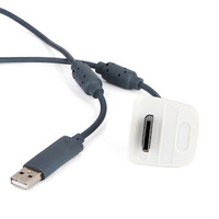 USB Play&Charger Charge Cable For Xbox 360 Controller