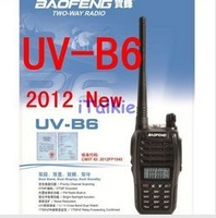 2 pcs x 2013 May- New arrival Baofeng dualband UV-B6 Two way radio 136-174/400-470mHZ   UVB6 wholesale BF-B6