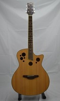 multi holes electric acoustic guitar