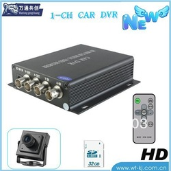 SD card car DVR ;1 CH Vehicle DVR ;D1 High definition...(China (Mainland))