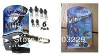 free shipping cost! 16packs/lot  Fix A Zipper, Magic zipper Fix Any Zipper Quickly Instant Zipper ,zongya li