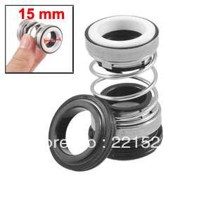 15mm 3/5&quot; Inner Dia Rubber Bellows Water Pump Mechanical Seal(China (Mainland))