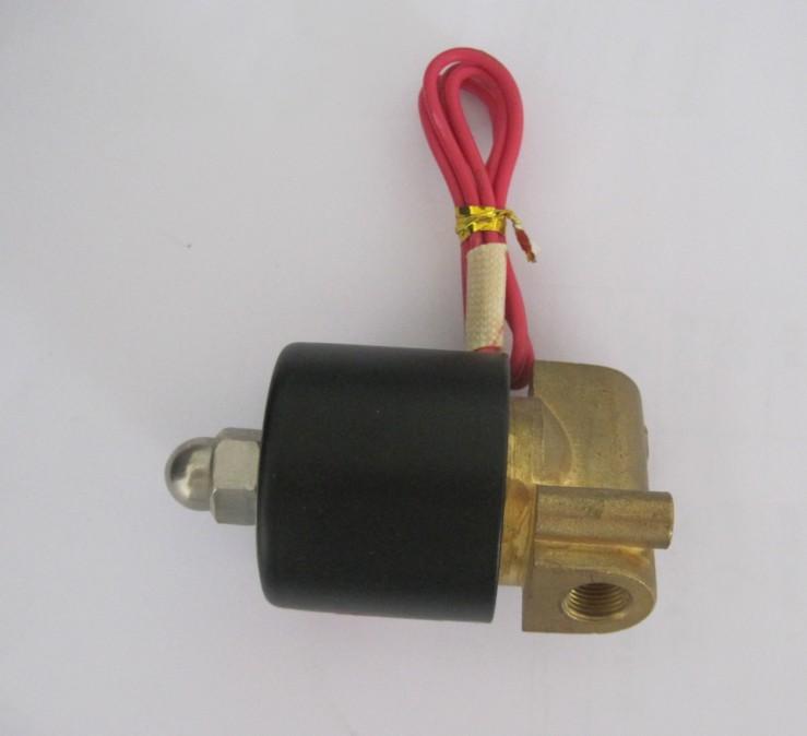 (2 pcs/lot) pneumatic 2W series solenoid valve 2W025-08 Direct Acting Brass Body solenoid valve(China (Mainland))