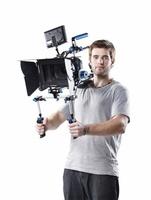 Wondlan Sniper 2 0 DSLR Rig Video Stabilizer Shoulder Support Follow Focus