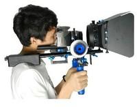 DSLR Rig Rigs Video Stabilizer Shoulder Support Camera Follow Focus Matte Box