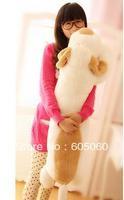 Free shipping  dog plush toy Large slitless sleeping pillow cloth doll dog lovers doll dinosaur pillow chlidren toys