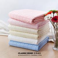 Cotton 100% cotton satin solid color jacquard single double duvet cover 200 *230cm 220* 240cm